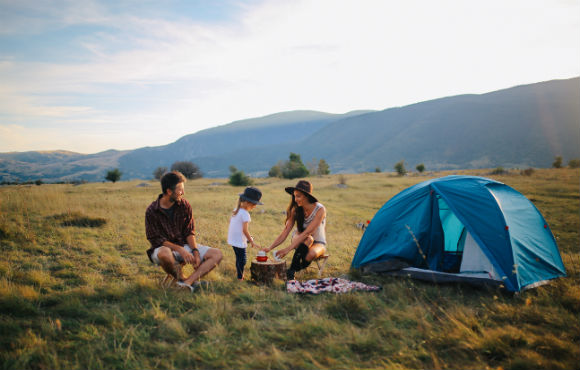 Waterproof Tents for Families