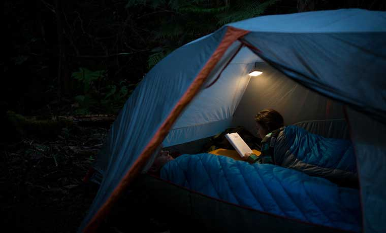 Inflatable Solar Lantern for Camping